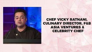 Chef Vicky Ratnani  Culinary Director  F