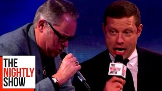 Vic and Bob Recreate Shooting Stars to Sing in the Style of a Club Singer with Dermot O'Leary