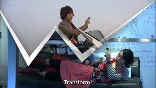 Kamen Rider W Funny Henshin Moment & Special Maximum Drive