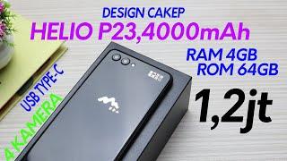 HP Murah Spek Sadis | Ram 4GB/64GB Helio P23 | Unboxing & Review Oukitel F11