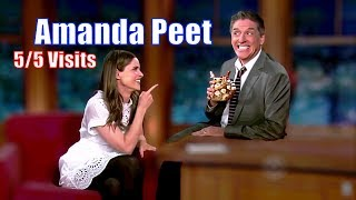 Amanda Peet - Has A Contagious Smile/Laugh - 5/5 Visits In Chronological Order