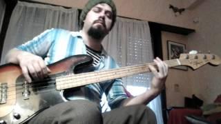 john lennon-hold on (bass cover)
