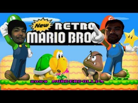 New Retro Mario Bros - GameArea - New Retro Mario Bros - (WHERE DEM SHROOMS AT?!) - User video