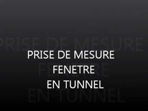 pose d 39 une fenetre en tunnel youtube
