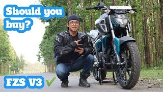 Yamaha FZS V3 Test Ride Review Nepal | Should You Buy?