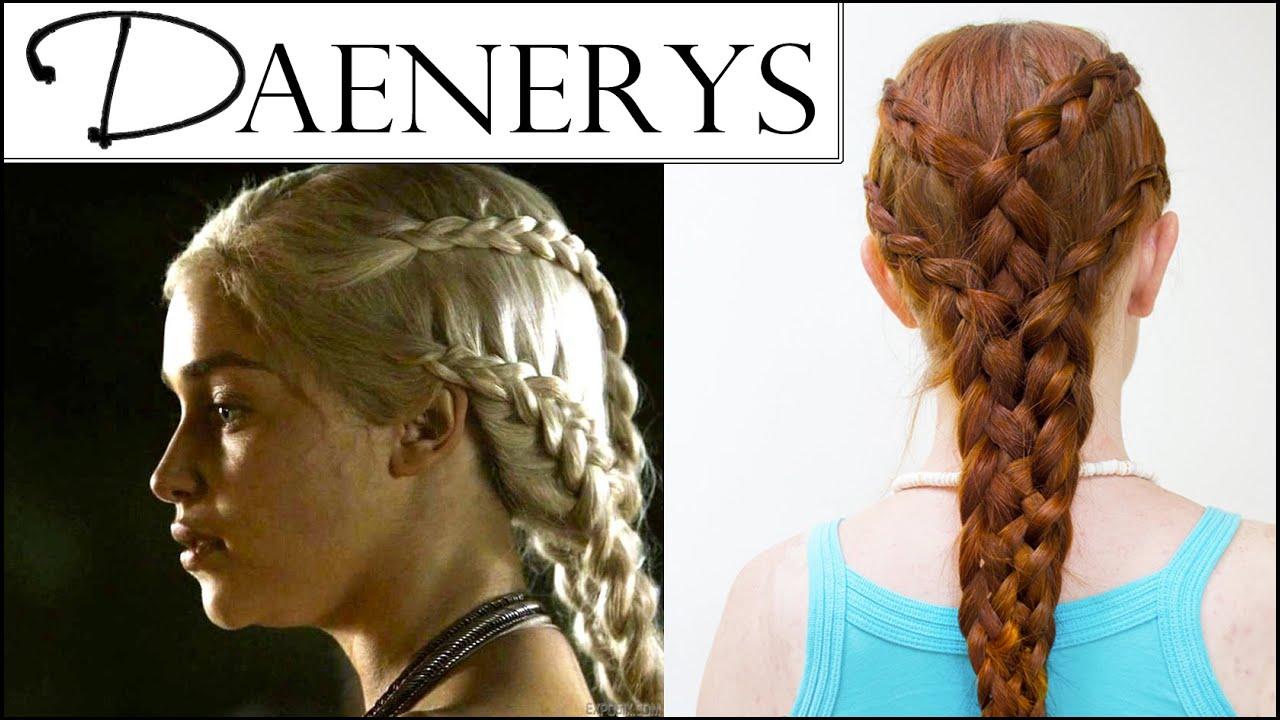 Game Of Thrones Hair Daenerys Targaryen Pyre Scene YouTube