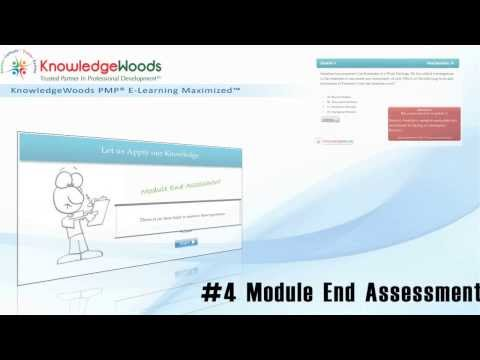 KnowledgeWoods PMP Online Training Launch - YouTube