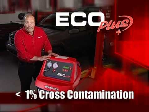 Snap On Eco Plus R134a A C Service Center Eeac324b Youtube