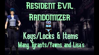(NEW) Lock/Key/Enemy/Item Randomizer - Resident Evil HD - First Completion