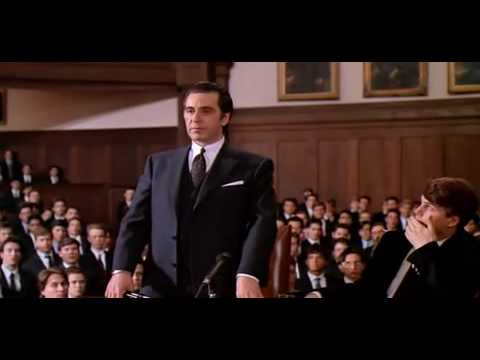 Scent Of A Woman Speech video