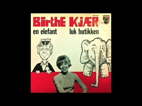 Birthe Kjær -  En Elefant (1970)
