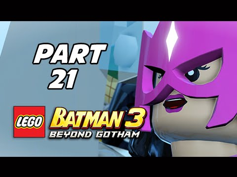 Lego Batman 3 Beyond Gotham Walkthrough Part 21 - Power of Love (Lets Play Commentary)