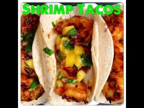 How to Make Shrimp Tacos with Gochujang & Mango Salsa