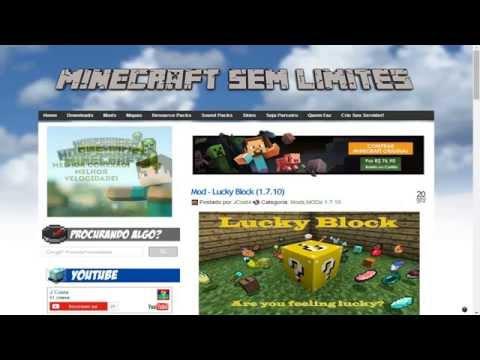 Tutorial: Como Baixar e Instalar Mods do blog Minecraft Sem Limites