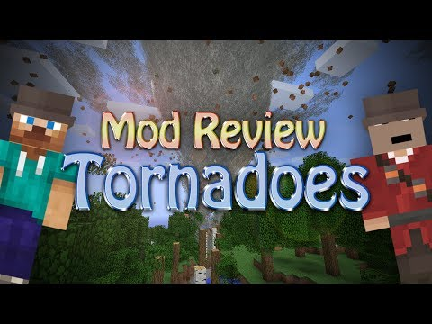 Minecraft: TORNADOES (Weather & Tornadoes)
