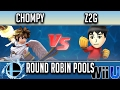 Smash'N'Splash 3 ROUND ROBIN POOLS - Chompy (Pit) vs Z2G (Mii Brawler, Lucario) MP3