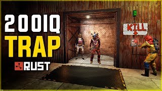 LURING PLAYERS into my 200IQ TRAP BASE - Rust Trap Base Gameplay