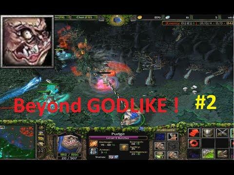 DotA - Pudge, Butcher Beyond GODLIKE ! #2