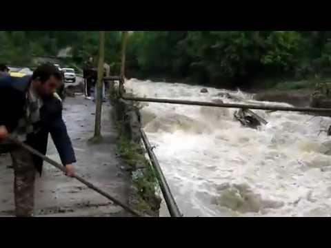 Կապանում գետը վարարել է