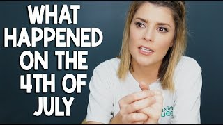 WHAT HAPPENED ON THE 4TH + A SURPRISE! // Grace Helbig