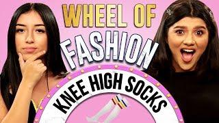 Knee High Socks Challenge Wheel Of Fashion W Shany Eileen