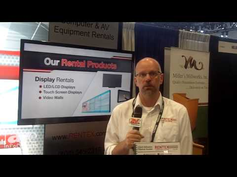 InfoComm 2014: Rentex Talks About Rental Products