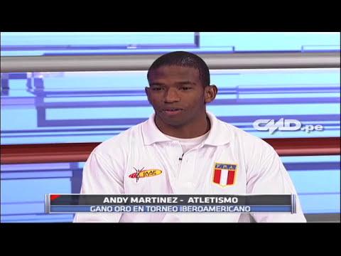 Central Deportiva: Entrevista a Andy Martínez (Velocista)