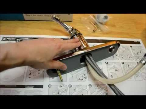How to Install a Kitchen Faucet   (Removal & Replace) Installation