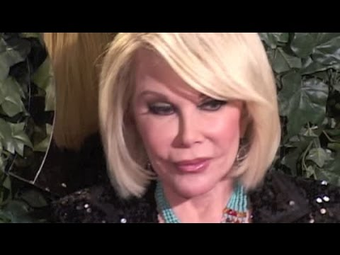 JOAN RIVERS arrives at QVC Red Carpet Style party in Beverly Hills - 2011