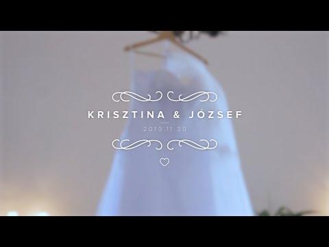 Krisztina és József esküvői kisfilm