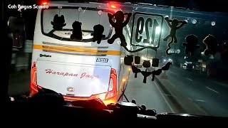 """ketemu Harapan Jaya Lampung yg banter_HR porche""""Hd Lasem,saling beri jalan"""