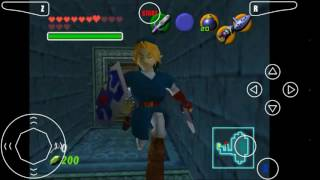 Descargar The Legend of Zelda Ocarina of Time Para Android | Tachodroid OMG | En Español