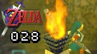 GEGEN MUMIE & ZOMBIE - Lets Play Zelda Ocarina of Time Gameplay #028 Deutsch German
