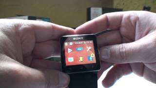 Sony Smartwatch 2 update - new feartures (wallpapers and tap to wake) NEW!!!
