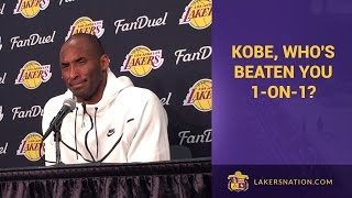Kobe, Has Anyone Beaten You 1-On-1?