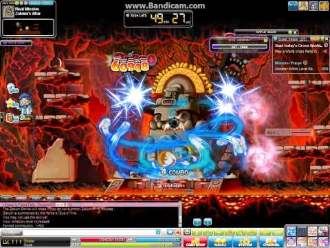 Maple Story, Shade lv110 vs Normal Zakum(tip for normal zk)