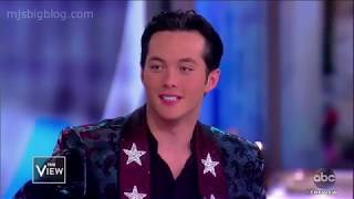 American Idol Winner Laine Hardy Visits The View