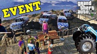 EVENT CU MONSTER TRUCK PE CHILIAD! • GTA 5 FIVEM