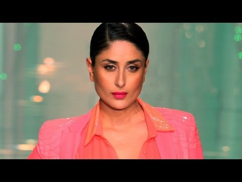 My Personal Style Is Pajamas and T-Shirts: Kareena Kapoor At LFW 2013 Grand Finale