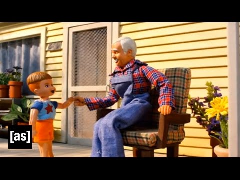 Pull My Finger | Robot Chicken | Adult Swim