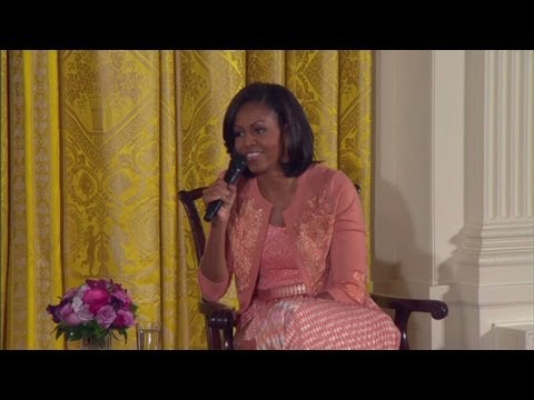 Michelle Obama explains being the first lady