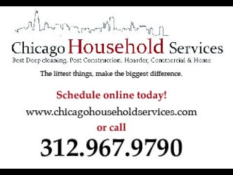 Chicago's Best Deep Cleaning Post Construction Clean up Service Expert