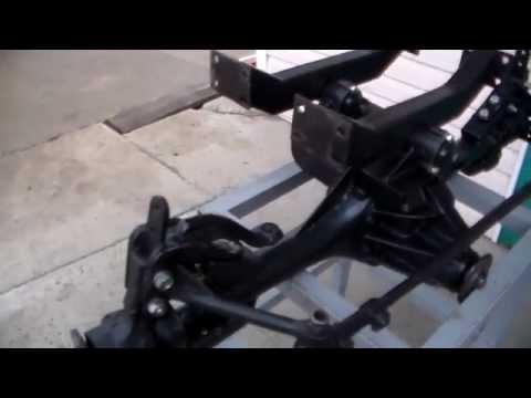 Самодельный задний мост на минитрактор