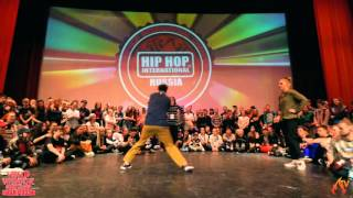 HIP HOP INTERNATIONAL  Russia 2016 Popping 1x1 Final | KRISS vs Lamut