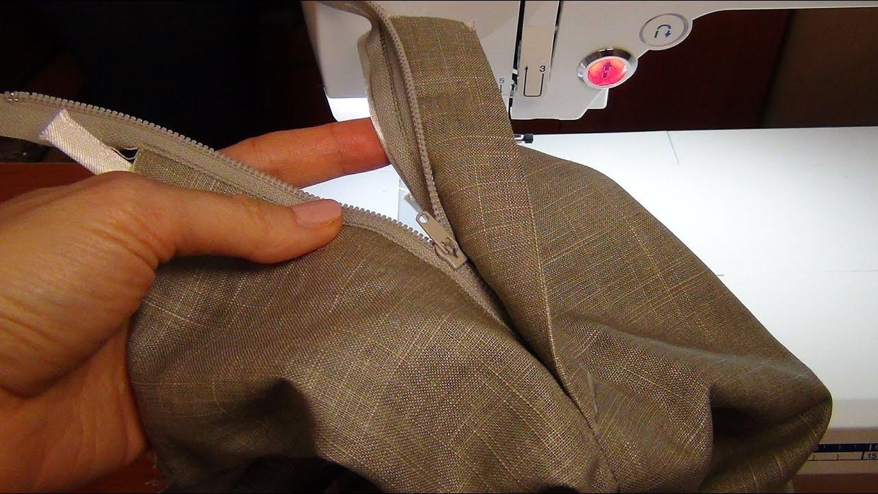 Гульфик. Обработка неотрезного гульфика в женских брюках 55