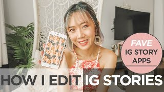 Top Apps For Instagram Stories | Camille Co