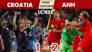Nhận Định Bán Kết World Cup 2018: Anh Vs Croatia Vào lúc 1h00 Ngày 12/7 : Cửa Thắng Thuộc Về Ai?