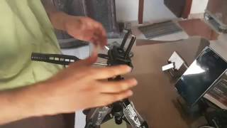 HOW TO FIX THE MOBILE OR CAMERA CLIP TO THE TRIPOD THE RIGHT  WAY