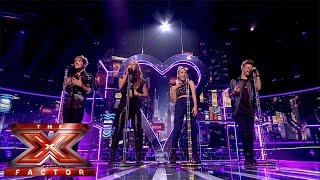 Only The Young sing Charli XCX's Boom Clap  | Live Week 3 | The X Factor UK 2014