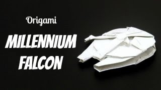 Origami Millennium Falcon (shu Sugamata)